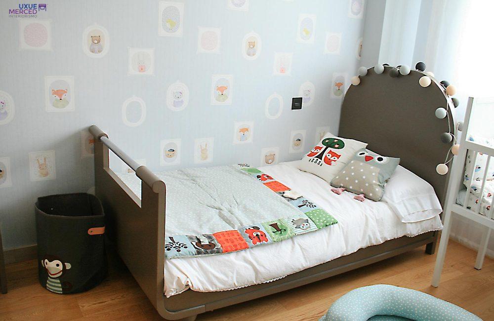 Dormitorio Infantil Mobiliario Años 50.